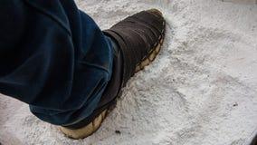 消毒作用的石灰 免版税库存图片