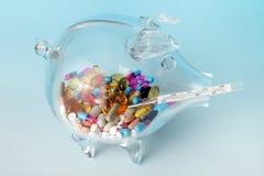 消耗大的健康 免版税图库摄影