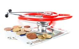 消耗大的医疗保健 免版税库存图片
