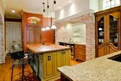 消耗大的厨房 图库摄影