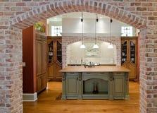 消耗大的厨房 库存照片
