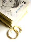 消耗大的婚礼 免版税库存图片