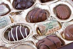 消耗大的巧克力 免版税库存照片