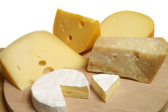消耗大的干酪 库存照片