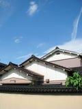 消耗大的房子日本传统 库存照片
