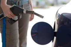 消耗大的汽油 免版税库存图片