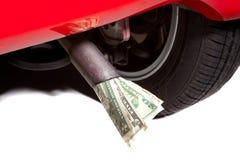 消耗大的燃料 免版税库存图片