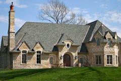 消耗大的豪宅非常 免版税库存图片