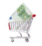 消费货币概念 库存照片