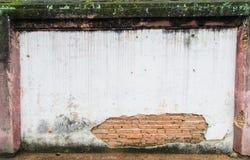 消退老墙壁 免版税库存图片