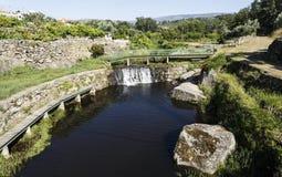 消遣游泳的河流设施 免版税图库摄影