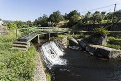 消遣游泳的河流设施 免版税库存图片