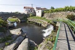 消遣游泳的河流设施 库存照片