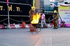 消防人员。 免版税图库摄影