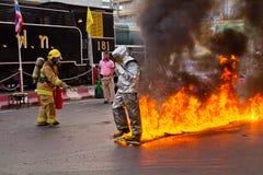 消防人员。 免版税库存图片
