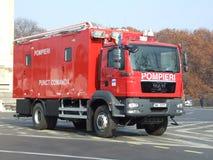 消防人员汽车 免版税库存图片