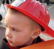 消防员年轻人 免版税库存照片