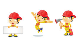 消防员1 免版税库存照片