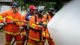 消防员 图库摄影