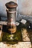 消防栓老水 库存图片