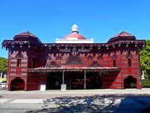 消防站, Ponce,波多黎各 免版税库存照片