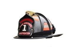 消防队员帽子 免版税库存照片