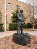 消防队员的纪念公园2000年,拉塞福,新泽西,美国 免版税库存照片