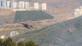 消防队员飞机 免版税库存图片
