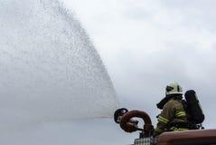 消防队员 库存照片