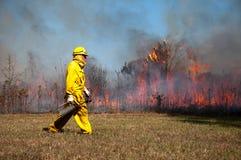消防队员 图库摄影