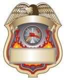 消防队员ii盾 免版税图库摄影