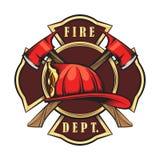 消防队象征 皇族释放例证
