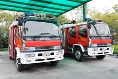 消防队通信工具 库存照片