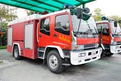 消防队通信工具 免版税库存照片