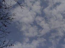 涉及天空 库存图片