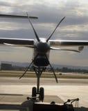 涉及的航空公司 免版税库存照片