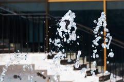 他涌出水喷泉 飞溅,抽象图象 库存图片