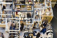 涌现的设计师市场在墨尔本中央 免版税库存图片