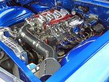 涡轮充电薛佛列brookwood引擎 免版税图库摄影