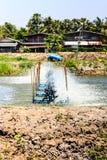 水涡轮叶轮 库存照片
