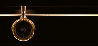 涡轮向量翼 库存图片