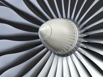 涡轮喷气机引擎 免版税图库摄影