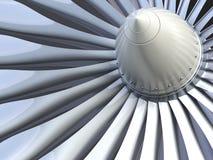 涡轮喷气机引擎 库存例证