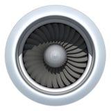 涡轮喷气机引擎 皇族释放例证
