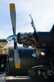 涡轮螺旋桨引擎罗斯劳艾氏泰恩河Rty Transall C-160的20个Mk 22航空器 图库摄影