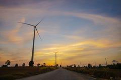 涡轮领域 免版税图库摄影