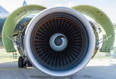 涡轮风扇引擎通用电器公司CF6-80C2 免版税图库摄影