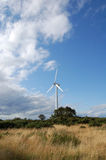 涡轮风 免版税库存照片