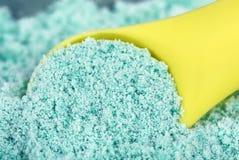 洗涤剂查出的粉末 免版税图库摄影