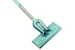 洗涤地板拖把 免版税库存照片